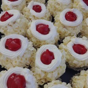 Junior Pastries Tray - White Chocolate Raspberry