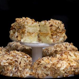 Cake Bars Tray - Toasted Almond