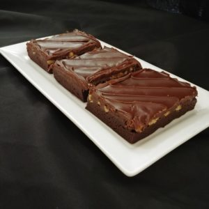 Brownie Tray - Iced, with Nuts