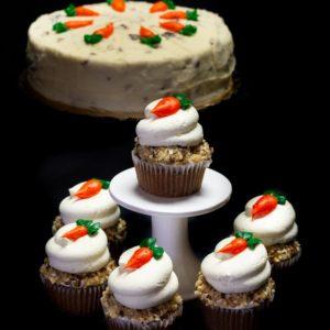 Premium Cupcake Tray - Carrot Cake