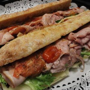Sandwich Tray - Ham & Swiss