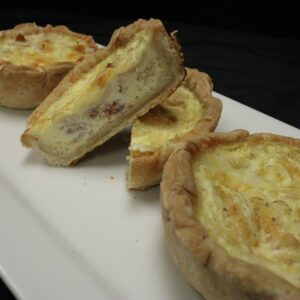 Quiche Cup Tray - Bacon & Swiss