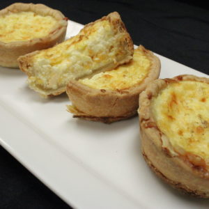 Quiche Cup Tray - Three Cheese